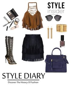 Untitled #2 by joannajo92 on Polyvore featuring polyvore fashion style Balmain Paul Andrew Marc Jacobs Chloé Christian Dior Borghese Bobbi Brown Cosmetics clothing