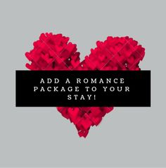 Have a Romance Package added to your suite prior to your arrival here at Elements and Insights.ca - start your stay off right! See us on TripAdvisor/Flipkey- see our guest reviews there!