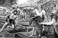 Noah's Ark, the Flood, and the Curse of Canaan, Ham's Son: God Tells Noah to Build an Ark
