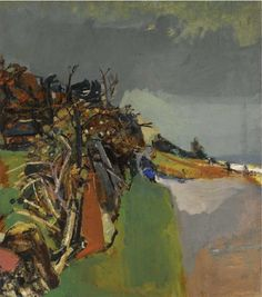 eardley, joan, r. the shore, corrie, arran (recto); figure resting in a Pastel Landscape, Contemporary Landscape, Abstract Landscape, Landscape Paintings, Abstract Art, Glasgow School Of Art, Impressionist Art, Art Auction, Artist Art