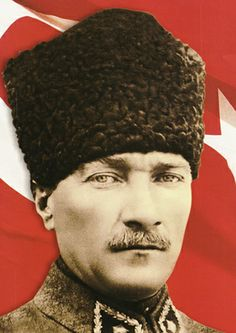 Mustafa Kemal Ataturk early years was at military school and later . The Turk, Grand National, Great Leaders, Dope Art, Western Dresses, World Leaders, Galaxy Wallpaper, World War I, Victorious