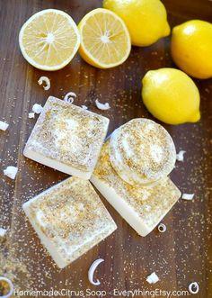 Homemade Citrus Soap Recipe on EverythingEtsy.com