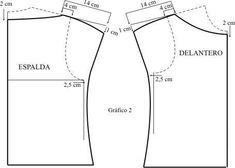 Resultado de imagen de blusas mangas caidas patrones