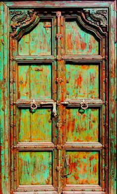Old Door by Robyn Liebenberg
