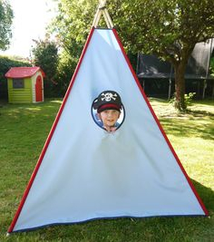Personalised Pirate Teepee / Tipi Childrenu0027s large play tent. Perfect gift & Personalised Pirate Teepee / Tipi Childrenu0027s large play tent ...