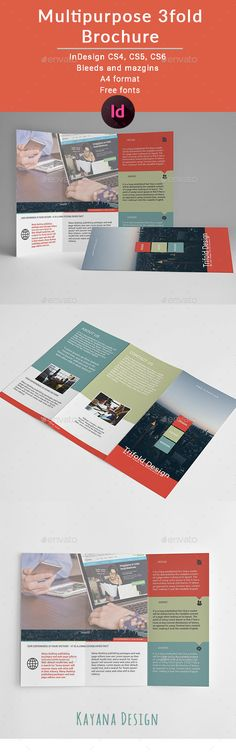 Tricolor Trifold Brochure - Brochures Print Templates Download here : https://graphicriver.net/item/tricolor-trifold-brochure/19663146?s_rank=77&ref=Al-fatih