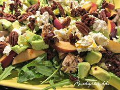 Ruokapankki: Kananektariinisalaatti #kana #nektariini #salaatti