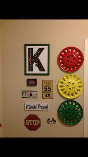 Korbin's race car room! | Krafty-K