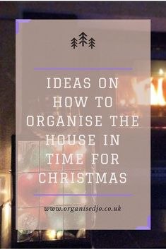 Christmas is coming, and before it gets too hectic with social events and all that present wrapping and buying, now is the time to get the house a little bit sorted. In this post I share with you some quick and simple organising tips to help you get ready for one of the busiest times of the year. Go check it out!
