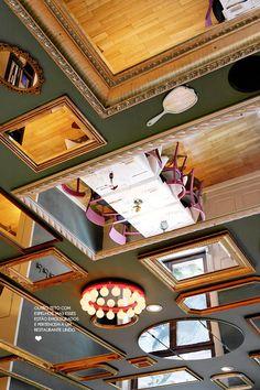 The mirrors ceiling. #decor #interior #design #idea #casadevalentina