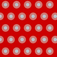 Teigen-red fabric by miamaria on Spoonflower - custom fabric
