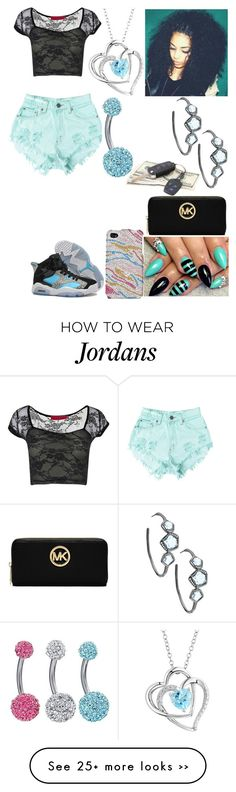 """""""Untitled #2009"""" by alize-roshaun-sims on Polyvore featuring Levi's, NIKE, Two Hearts Forever One, Ippolita and MICHAEL Michael Kors"""