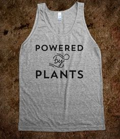 vegan shirt. $29.99 Powered by Plants