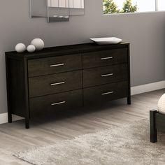 South Shore Gravity 6 Drawer Double Dresser | AllModern