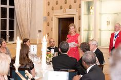 The Countess of Wessex as Patron of Moor House School attended a Dinner at Saddlers' Hall in London. HRH The Countess of Wessex attended the event as the Guest of Honour and gave the Vote of Thanks (formal expression of thanks). Viscount Severn, Lady Louise Windsor, Prince Philip, Queen Elizabeth Ii, British Royals, Business Women, Charity, The Past, Engagement