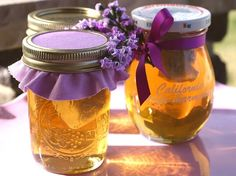 This gift idea came about because I wanted some lavender honey to drizzle over warm brie on baguette slices. Then I thought the honey woul...