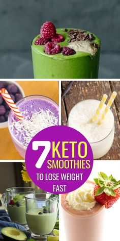 The 7 Best Keto Smoothie Recipes to Stay in Ketosis Keto smoothie recipes! Keto smoothies, keto smoothie recipes breakfast, keto smoothie recipes low c Almond Milk Smoothie Recipes, Easy Green Smoothie Recipes, Breakfast Smoothies For Weight Loss, Diet Smoothie Recipes, Keto Fruit, Low Carb Smoothies, Breakfast Smoothie Recipes, Fruit Smoothie Recipes, Healthy Breakfast Smoothies