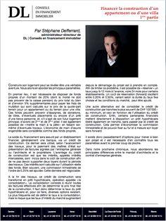 #Conseil #Immobilier #Financement #Banque #Neuf: Comment financer sa maison ou sa villa? Dans votre #IMMOmagazine No.19