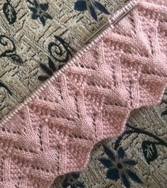 Discover thousands of images about Best Beautiful Easy Knitting Patterns Baby Knitting Patterns, Knitting Stiches, Easy Knitting, Crochet Stitches, Stitch Patterns, Knitted Blankets, Free Pattern, Women's Vests, Time Activities