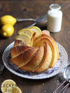 Zitrone-Buttermilch-Gugelhupf