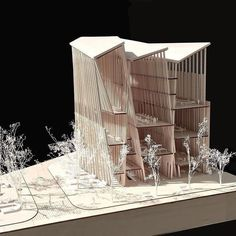 how to make a good structural model architecture Architecture Design, Architecture Model Making, Concept Architecture, Landscape Architecture, Colonial Architecture, Structural Model, Arch Model, Architectural Section, Design Model