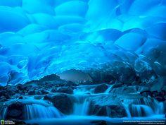 Mendenhall Ice Caves of Juneau in Alaska, United States   Travel Trip Journey: Mendenhall Glacier Juneau Alaska United States