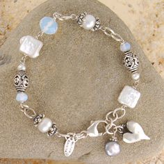 Bracelet Wish Upon a Pearl Bracelet Perfect by BellaBranchJewelry, $159.00