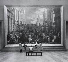 lostinhistorypics: The Louvre museum Paris 1957. Photo by John... My blog posts