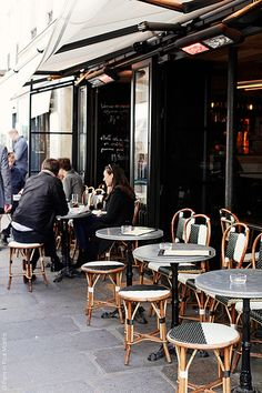 Café in the 7th Arrondissement, Paris