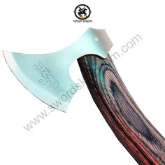 "Wooden Handle Axe: Total Length of Wooden Handle 12.5 inches in Length Stainless Steel Blade  Blade Length:3.5"" Weight: 0.42Kg Strong Wooden Handle See more information you can visit our website by clicking a link that mentioned on our profile."