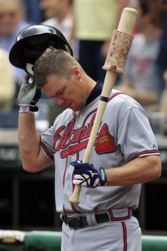Chipper Jones, the first name I knew in baseball.Thanks Dad<3
