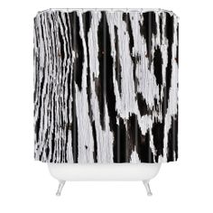 Caleb Troy Splintered Maze Shower Curtain | DENY Designs Home Accessories 50% OFF Black Friday Sale with Coupon code BLACFRI50 #denydesigns #showercurtain #blackfriday #bathroom #zebraprint #blackandwhite #vintage #sale #gift
