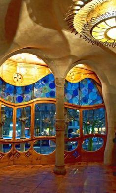Uno de los edificios más hermosos de Barcelona, La Pedrera.