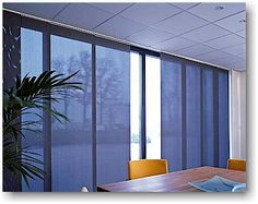 Panel blinds makes an effective and fascinating appearance to windows, look no further than our fabulous and functional Panel Blinds. Sliding Panels, Sliding Windows, Sliding Glass Door, Large Windows, Glass Doors, Sliding Doors, Panel Blinds, Window Panels, Window Wall