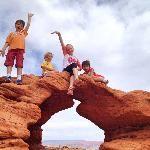 Tiny arch at Pioneer Park | St. George, Utah
