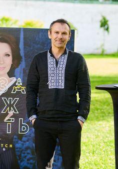 Святослав Вакарчук восхитил стильным образом в модной вышиванке - Караван