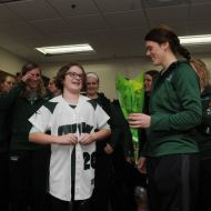 10-year-old with Ehlers-Danlos syndrome Joins UWGB's Softball Team