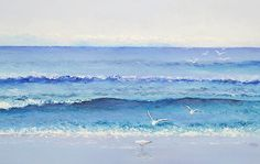 Summer Seascape by Jan Matson - Summer Seascape Painting - Summer Seascape Fine Art Prints and Posters for Sale