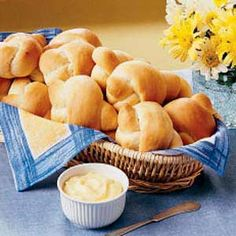 Mother's Dinner Rolls Recipe -These tender rolls will melt in your mouth. Mom would set out her big square-footed honey bowl with them - some sweet butter and a drizzle of honey on these rolls is a special treat. -Willa Govoro, St. Clair, Missouri