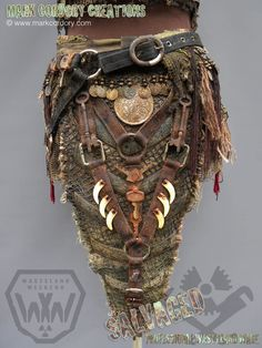 Post Apocalyptic costume made for Wasteland Weekend. SALVAGED Ware enquiries welcome @ www.markcordory.com
