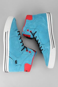 High-top skate sneaker? Got it. #urbanoutfitters #supra    SUPRAS! once again they're for guys but you know what. I love them.