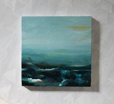 "abstract landscape painting ""by the shore"" by julie tillman @Julie Forrest Forrest Tillman"