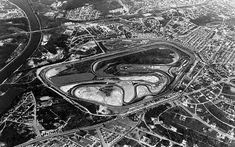 Autódromo de Interlagos na década de 70.