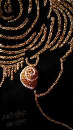Σκουλαρίκια σε πραγματική απόδοση σχήματος κοχυλίου, με επίχρυσα κλίπς. Earrings seashell 3d shape, with gold plated clips. #από_χέρι_σε_χέρι #πλεκτό_κόσμημα #Κλεοπάτρα_Χρήστου #πλεκτο #κοσμημα #σκουλαρίκια #χειροποιητακοσμηματα #χειροποιητο #γυναικα #μοδα #δωρο #τεχνη #αξεσουαρ #crochetjewellery #woman #handmade #crochet #fashion #accessories #style #art #gift #girl #love #colorful #wearit #Greece #jewel #crochetearrings #lookoftheday Pendant Necklace, Jewelry, Fashion, Moda, Jewlery, Jewerly, Fashion Styles, Schmuck, Jewels