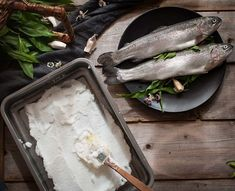 The other day I made fish in a salt crust from book. It turned out incredibly well. Do you eat fish?