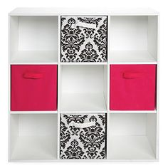 Talk about stylish storage! Solve your storage needs with this 9-cube storage cubby from #BigLots.
