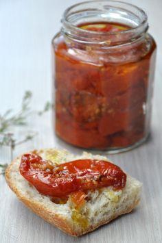 Tomates confites (tomates séchées) maison