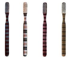 Plaid toothbrushes would always make me smile.