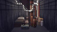 TS4 Bohemian Style Bunker Set pt1 - Onyx Sims