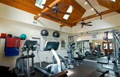 Great home gym!